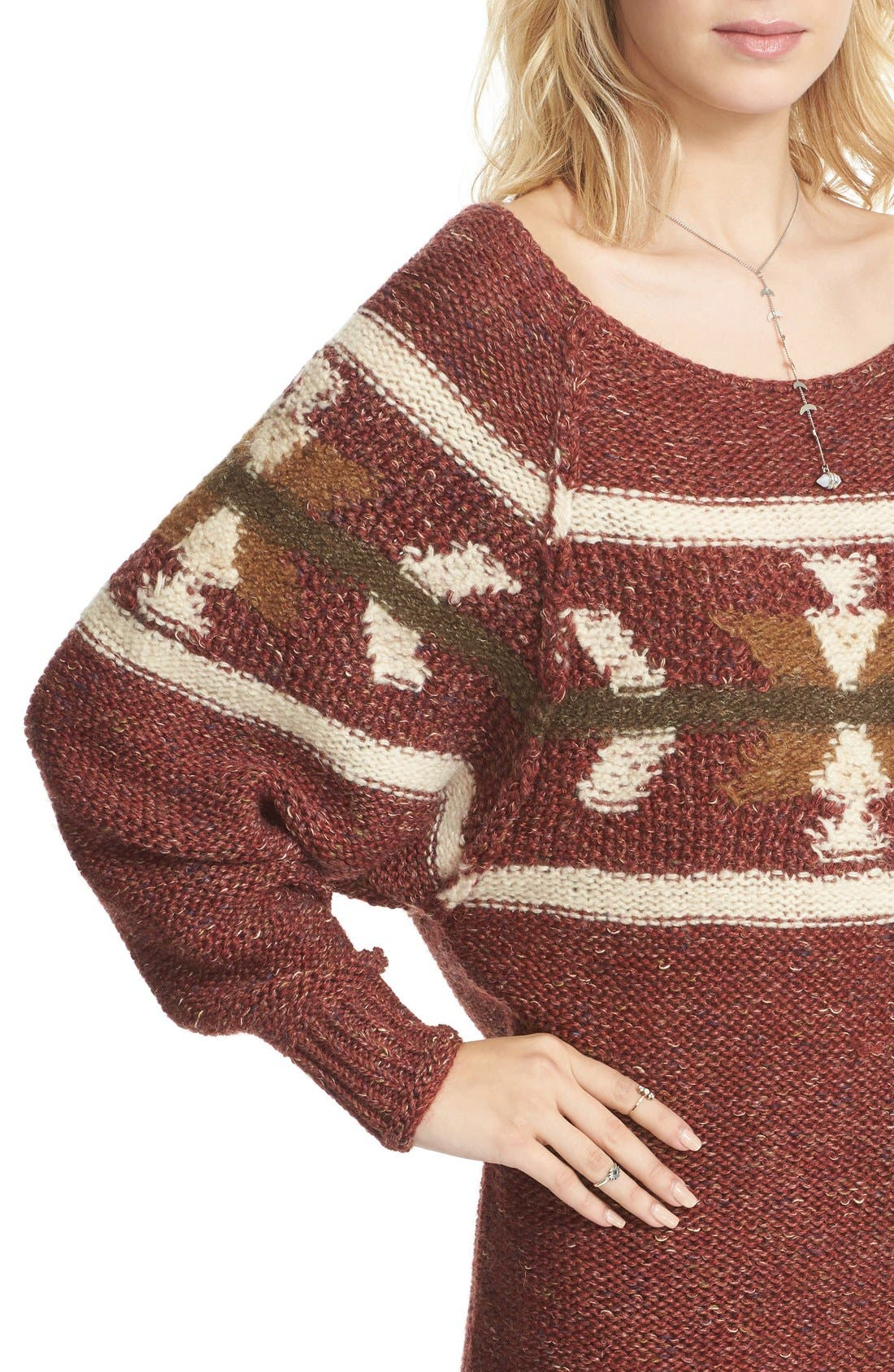 Alternate Image 4  - Free People Northern Lights Sweater Dress