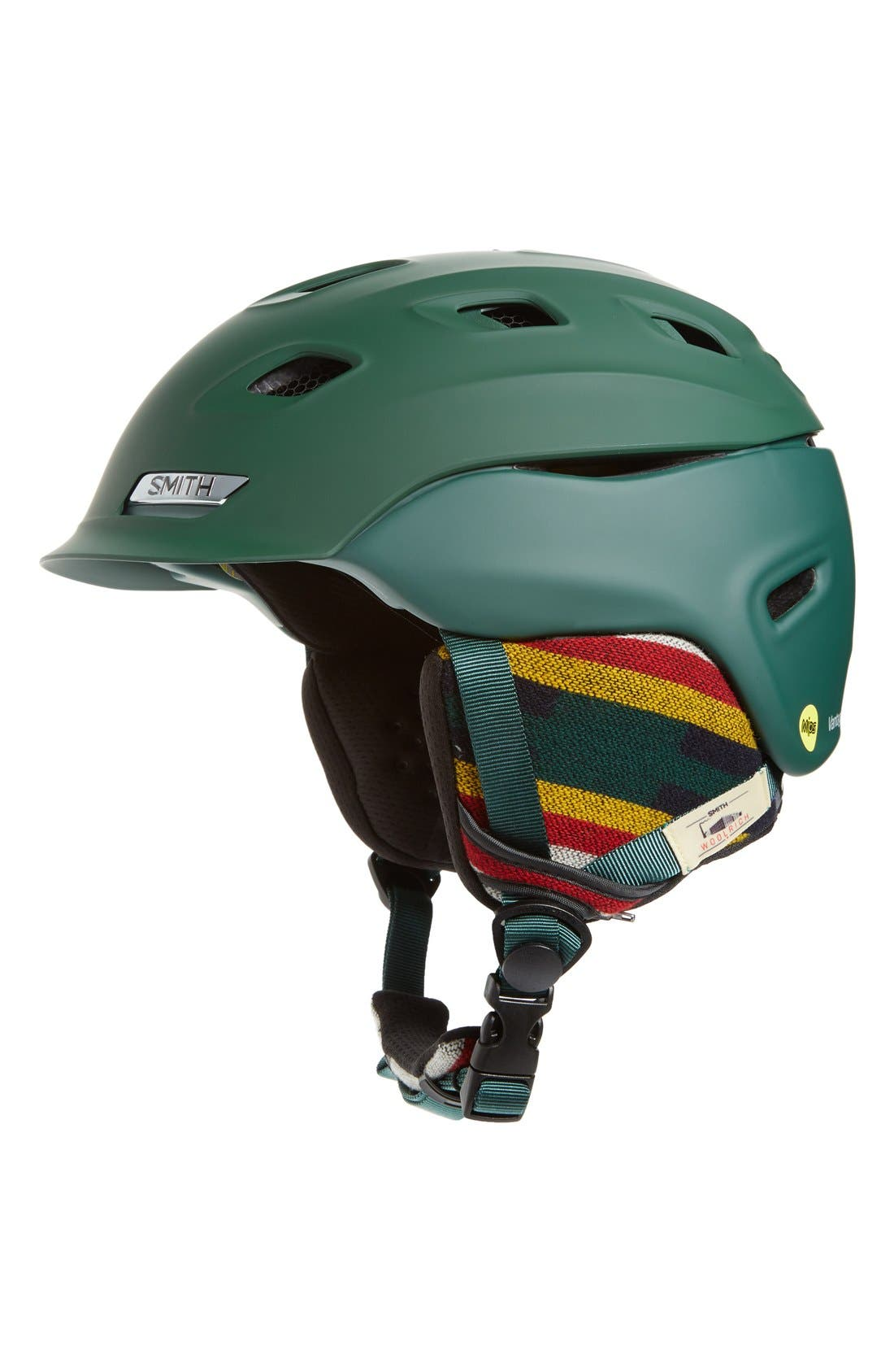 Vantage Snow Helmet with MIPS,                         Main,                         color, Matte Forest Green