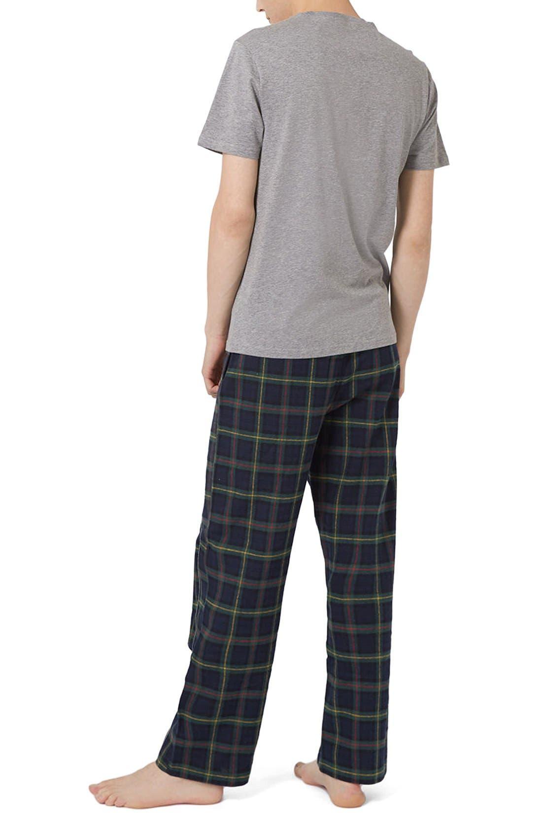 Alternate Image 2  - Topman Pajamas