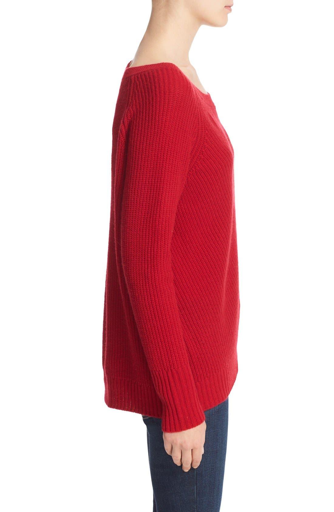 Alternate Image 3  - Joie Ekin Wool & Cashmere Sweater