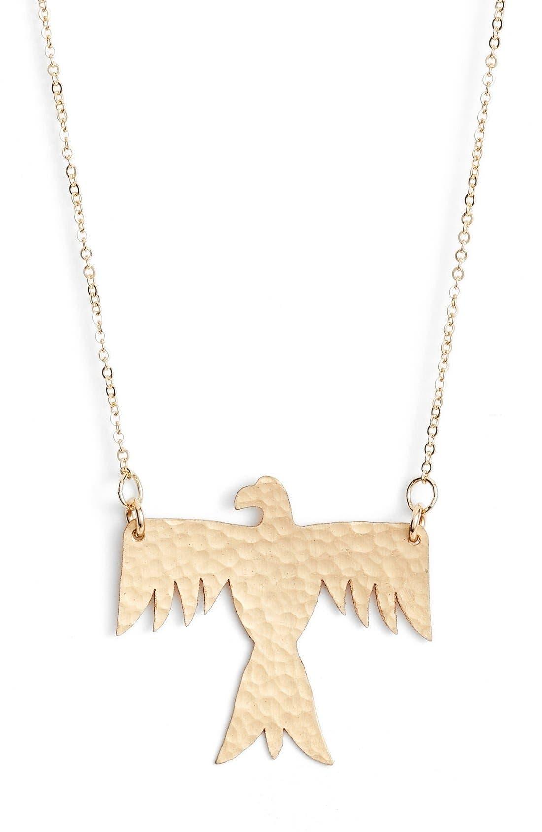 Main Image - Nashelle Phoenix Pendant Necklace