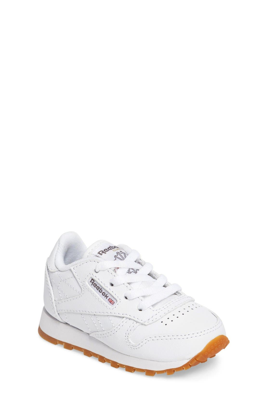 Reebok Classic Leather Sneaker (Baby, Walker & Toddler)