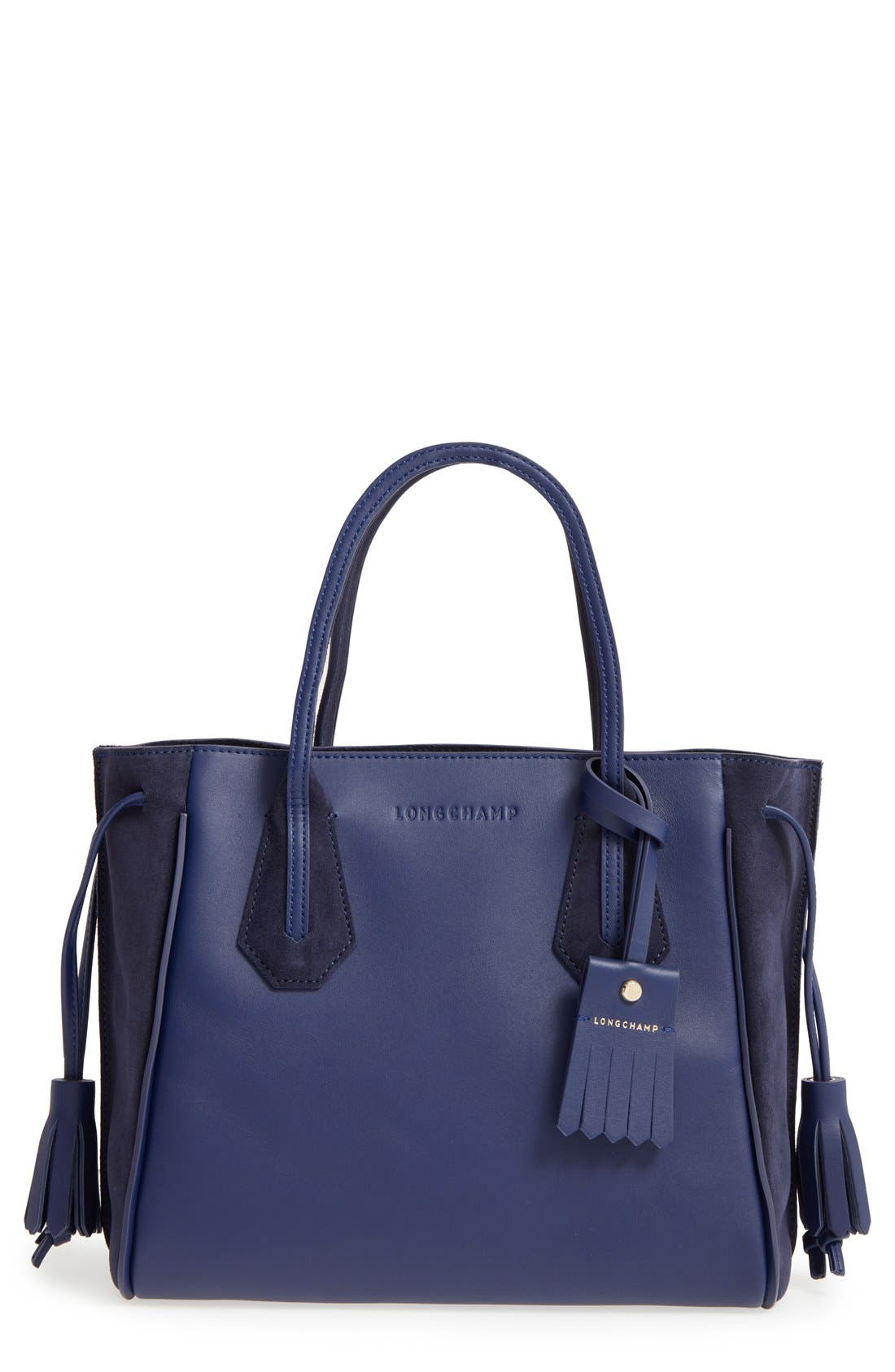 Alternate Image 1 Selected - Longchamp 'Small Penelope Fantasie' Leather Tote