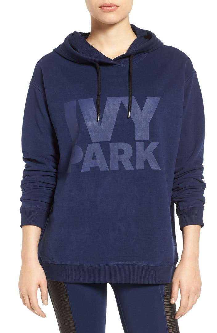 ivy park peached logo hoodie nordstrom. Black Bedroom Furniture Sets. Home Design Ideas