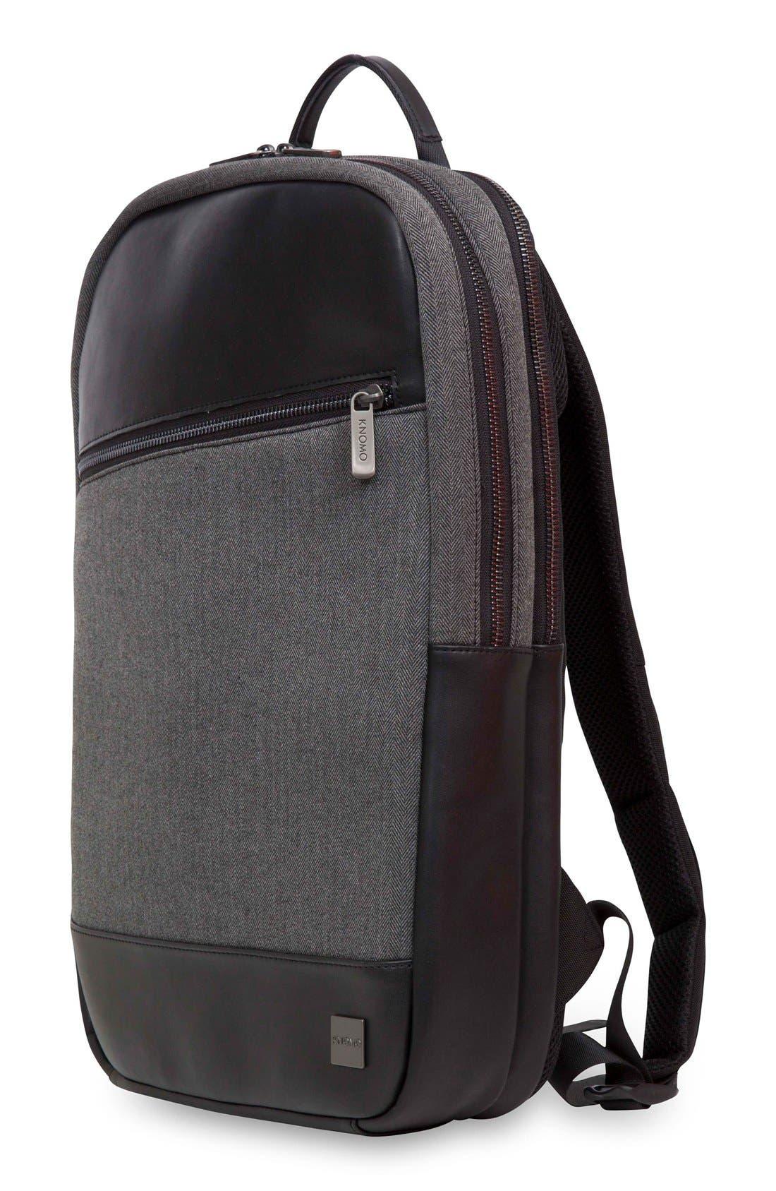 Holborn Southampton Backpack,                             Alternate thumbnail 4, color,                             Grey