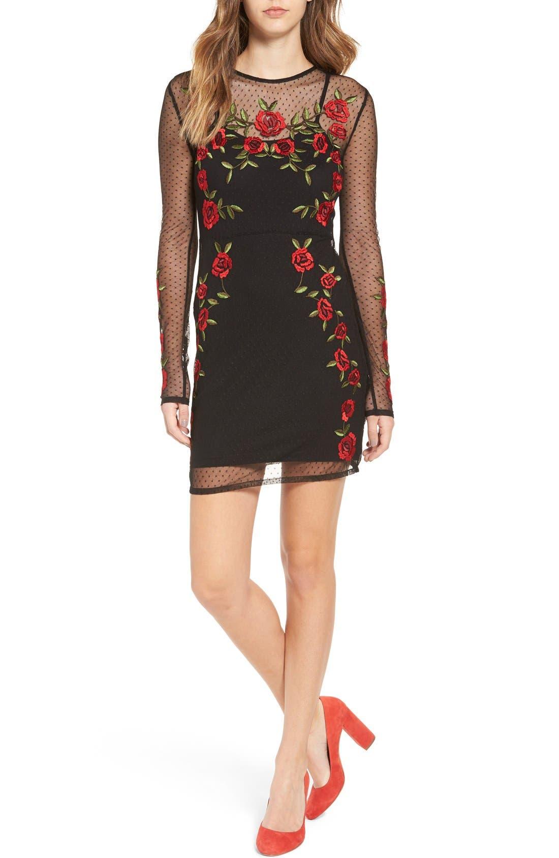 Main Image - Lovers + Friends Morella Body-Con Dress