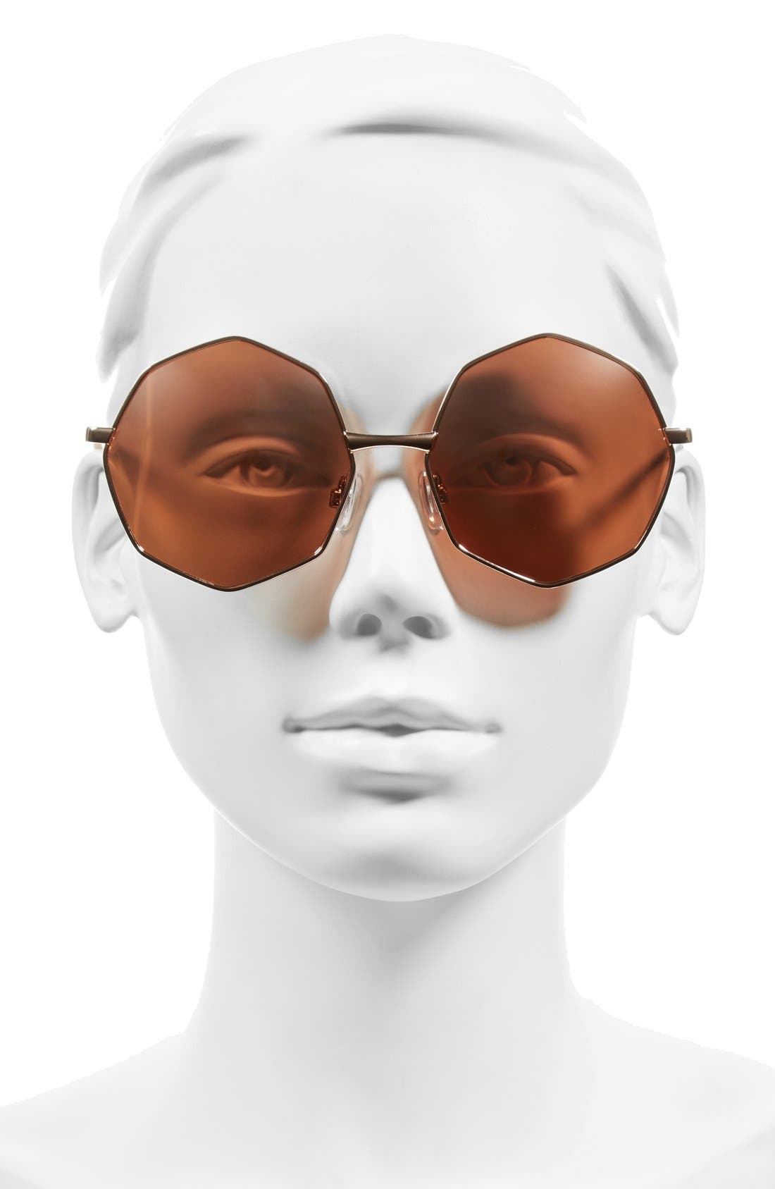 Alternate Image 2  - BP. 58mm Octagon Metal Sunglasses