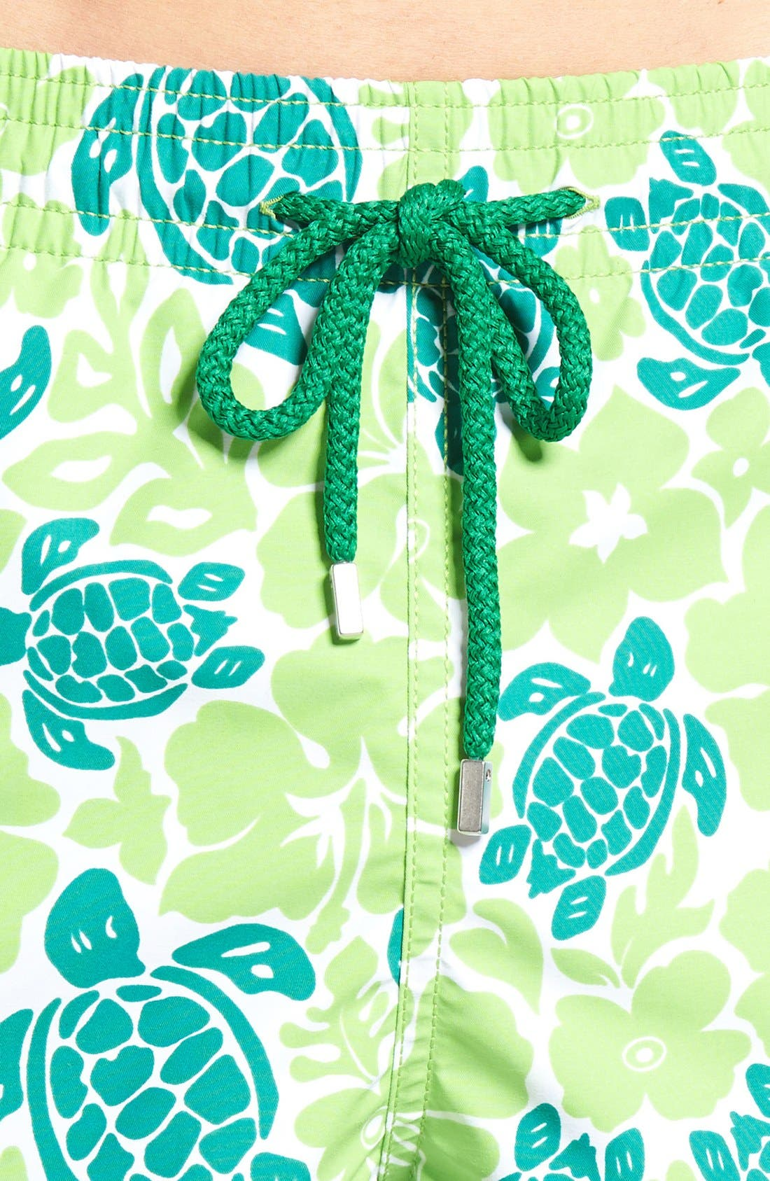 Alternate Image 4  - Vilebrequin Hawaiian Turtle Print Swim Trunks
