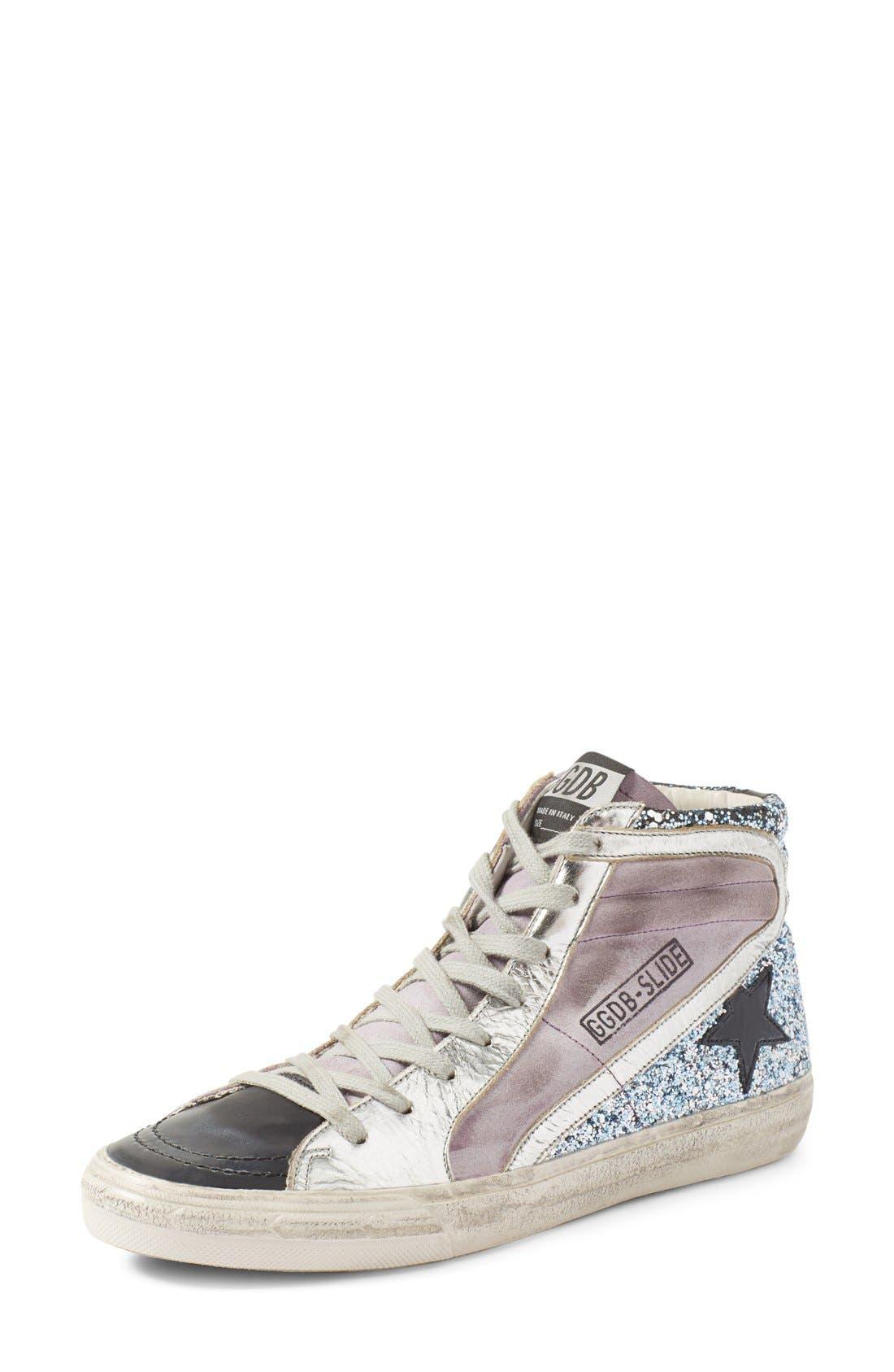 Alternate Image 1 Selected - Golden Goose 'Slide' High Top Sneaker (Women)