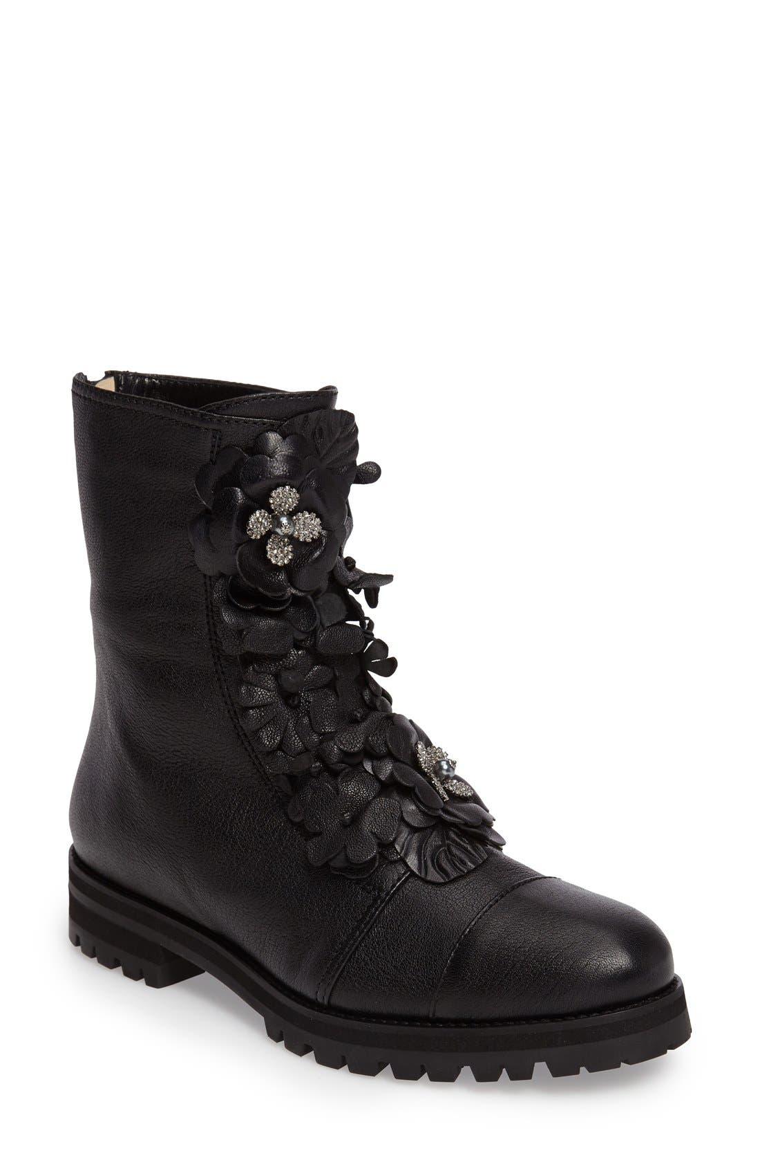Alternate Image 1 Selected - Jimmy Choo Havana Floral Boot (Women)