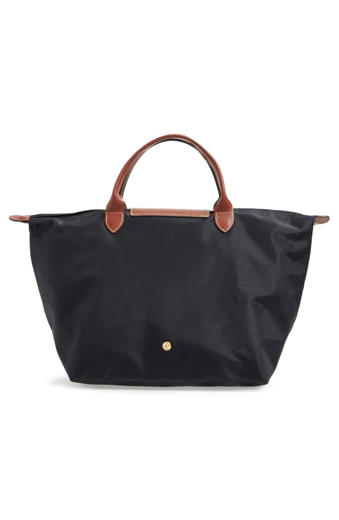 Online Cheap Portable Longchamp LM Bags Green
