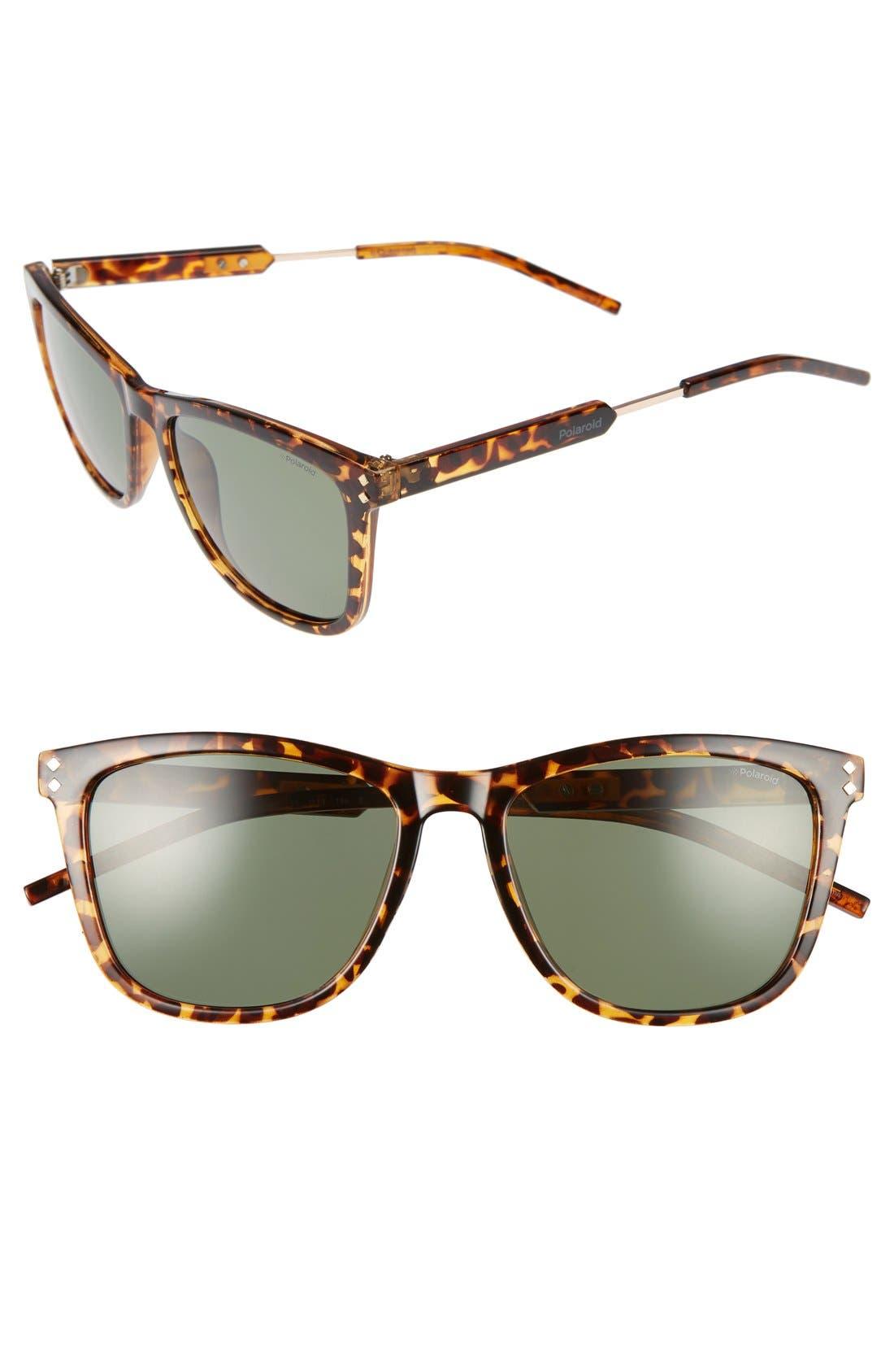 Polaroid Eyewear 55mm Polarized Sunglasses