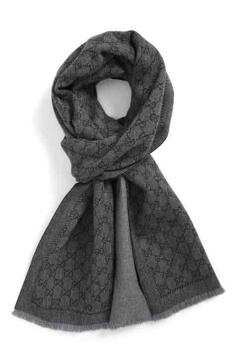 Gucci Lonar Wool Jacquard Scarf 94d3d3ce9fa
