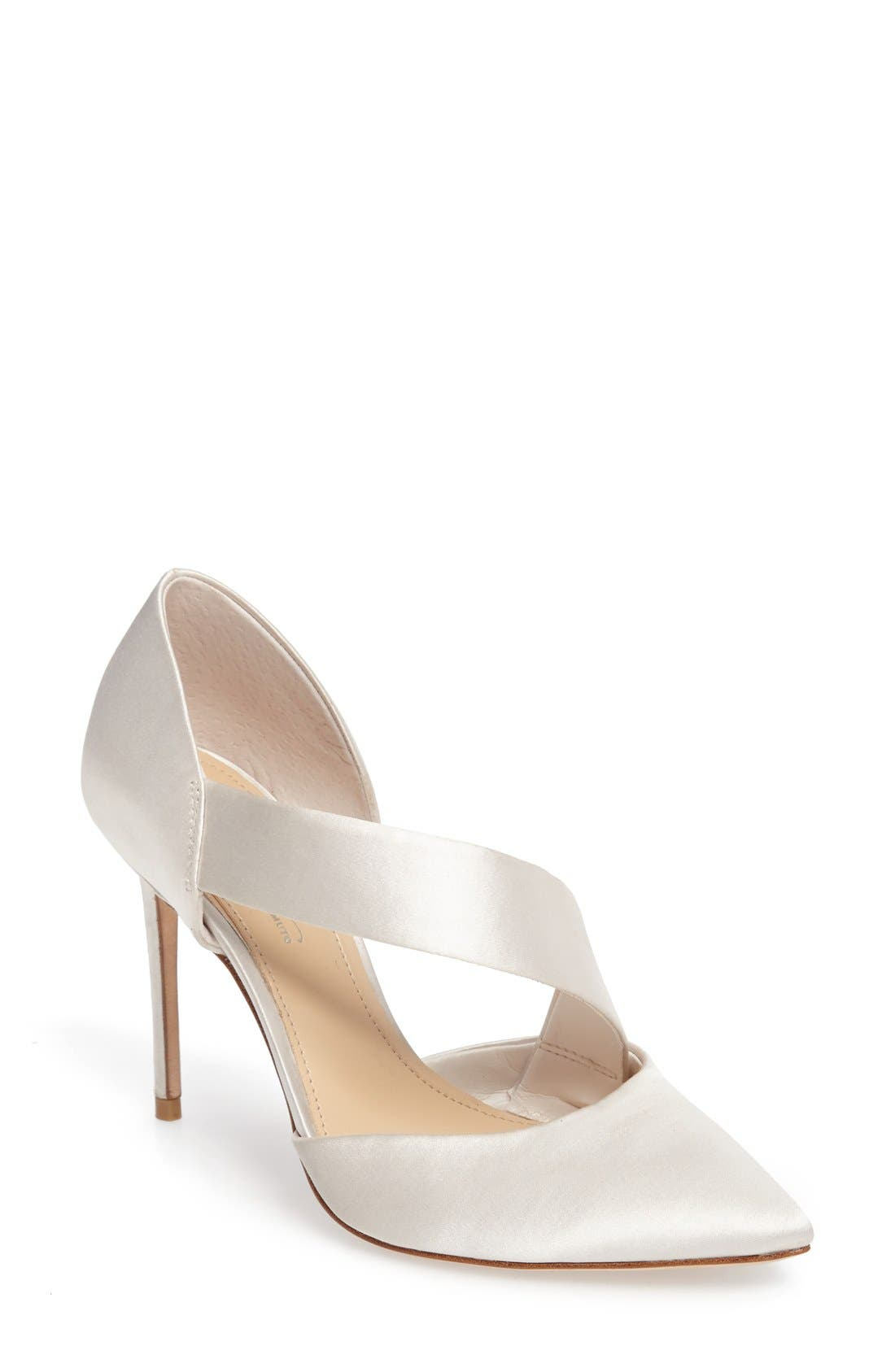 Imagine by Vince Camuto Oya Asymmetrical Pointy Toe Pump (Women)