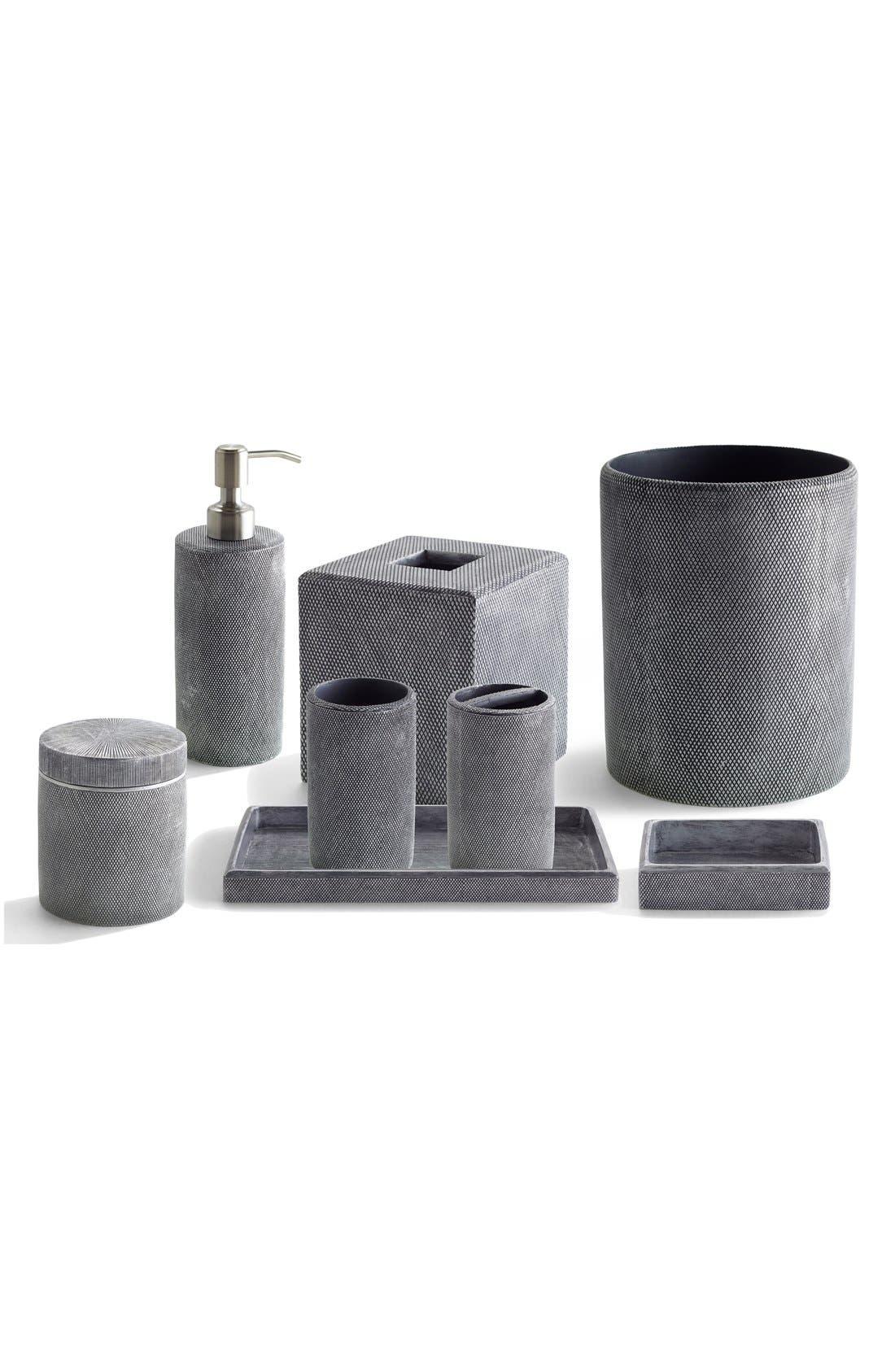 Etched Lotion Dispenser,                             Alternate thumbnail 2, color,                             Grey