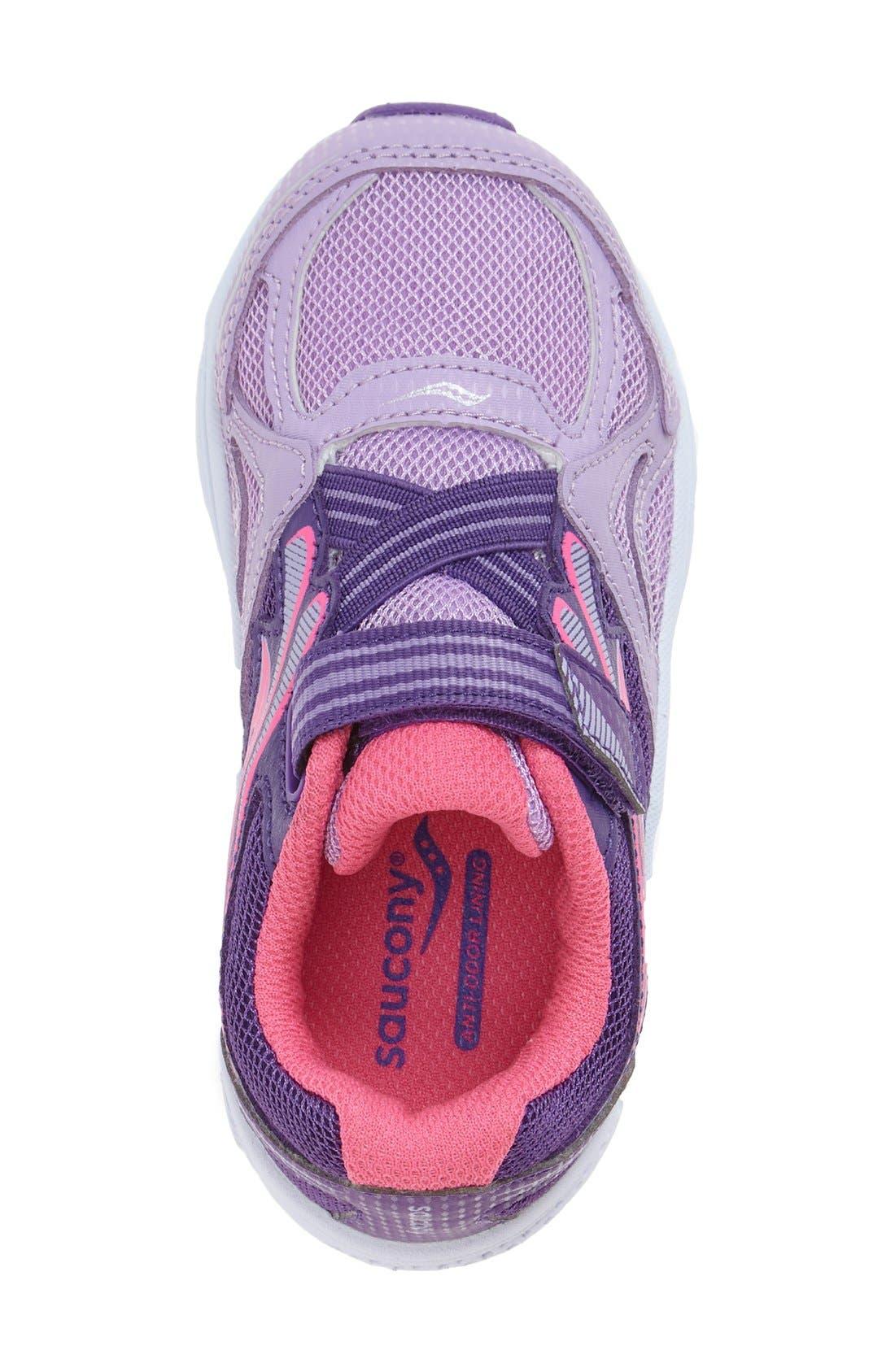 Baby Ride Sneaker,                             Alternate thumbnail 3, color,                             Purple