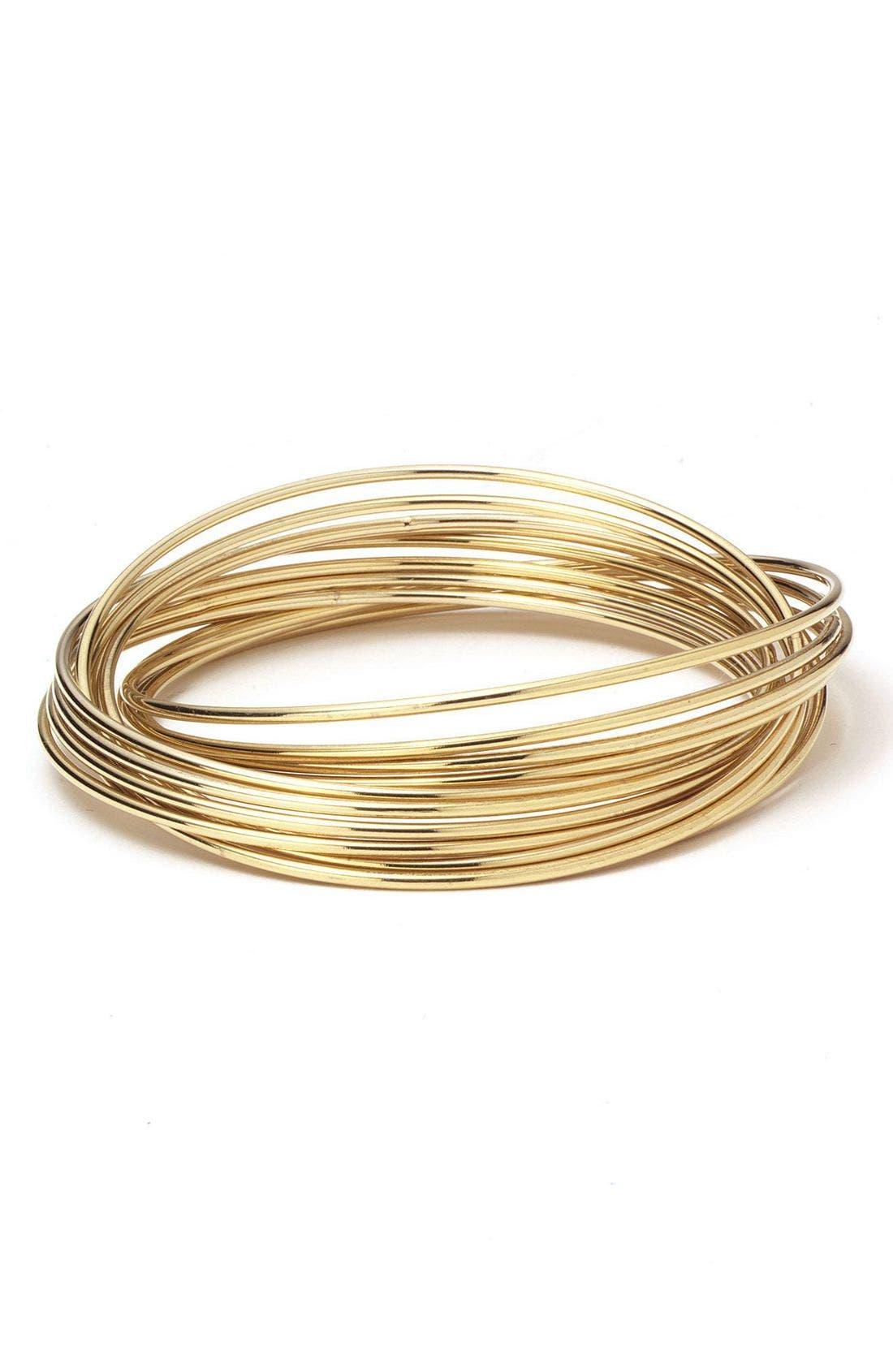 Alternate Image 1 Selected - Nordstrom Rolling Bangle Bracelets
