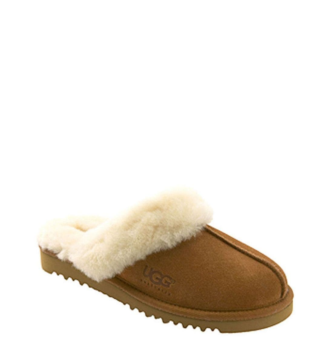 Alternate Image 1 Selected - UGG® Cozy Scuff Slipper (Toddler, Little Kid & Big Kid)
