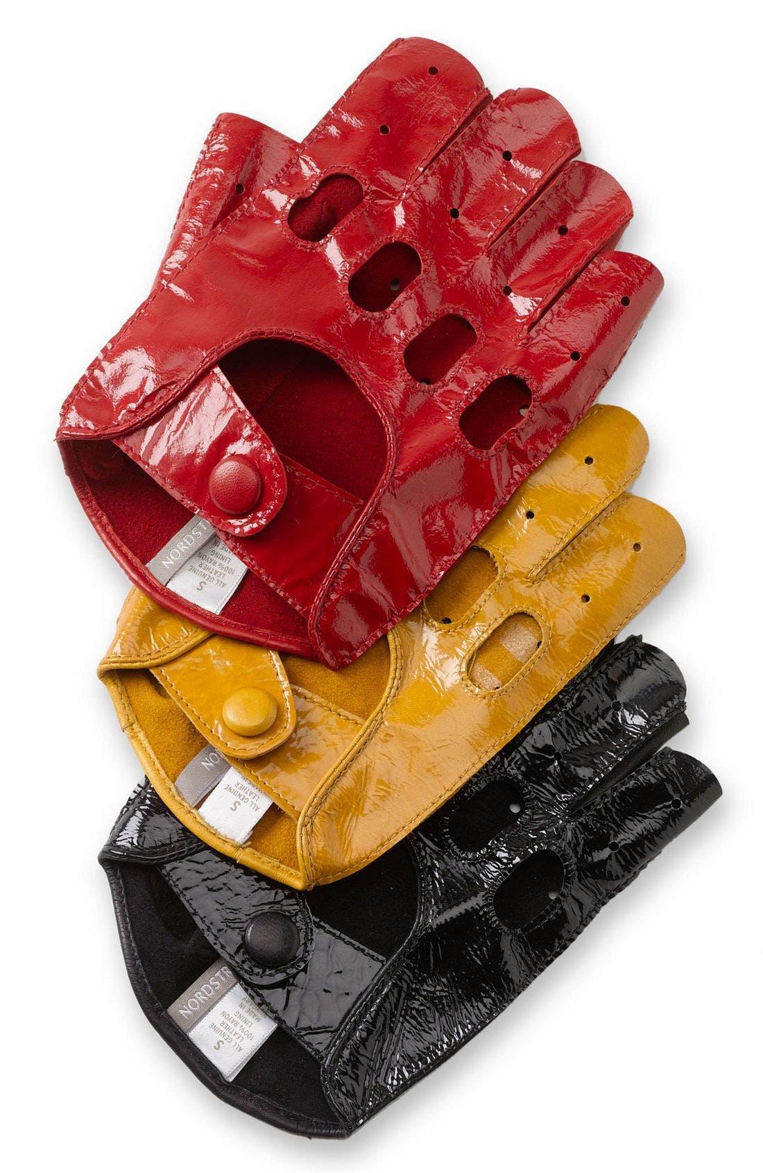 Main Image - Nordstrom Fingerless Driving Gloves
