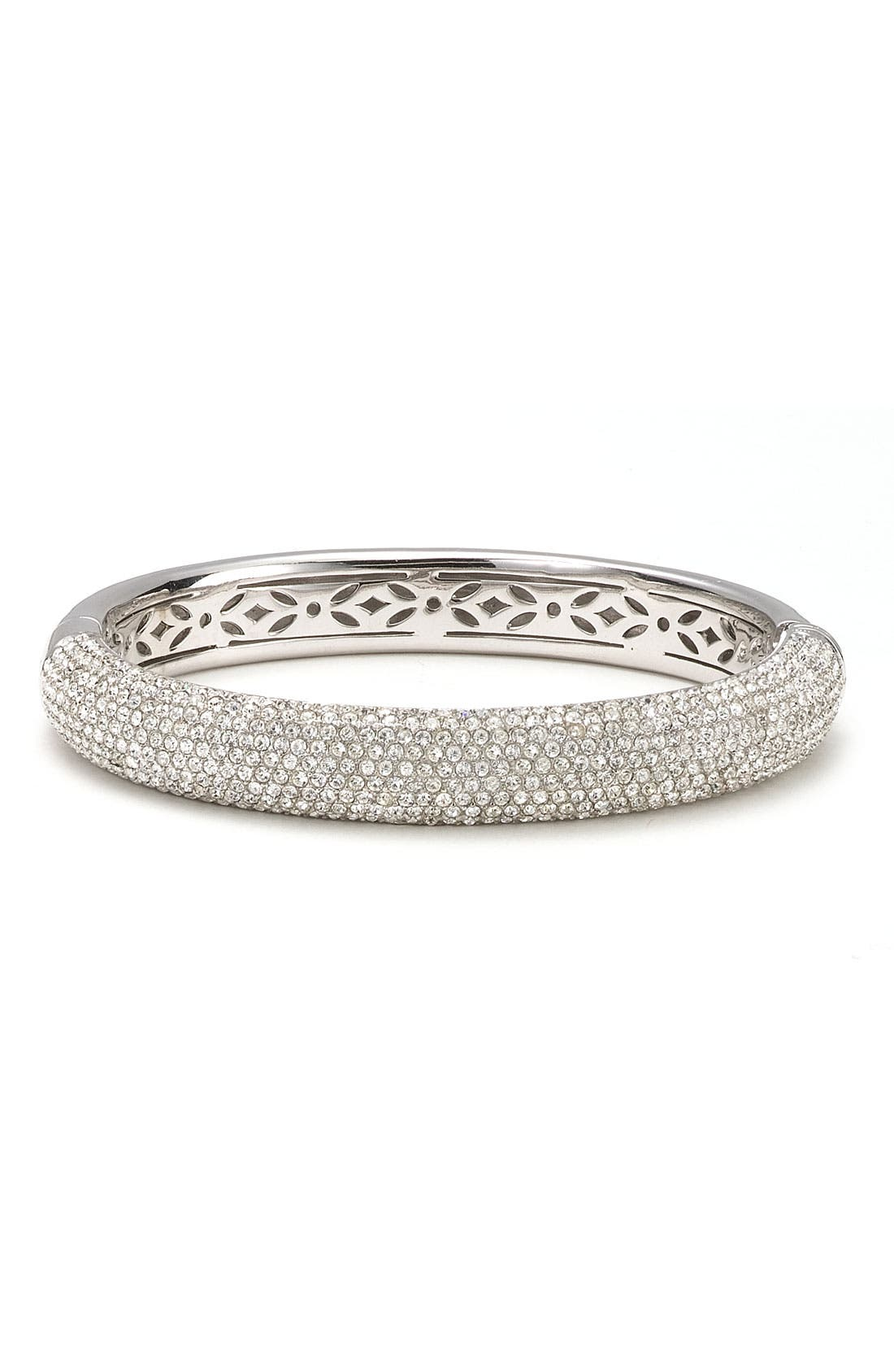 Alternate Image 1 Selected - Nadri 'Micro' Medium Pavé Crystal Bangle