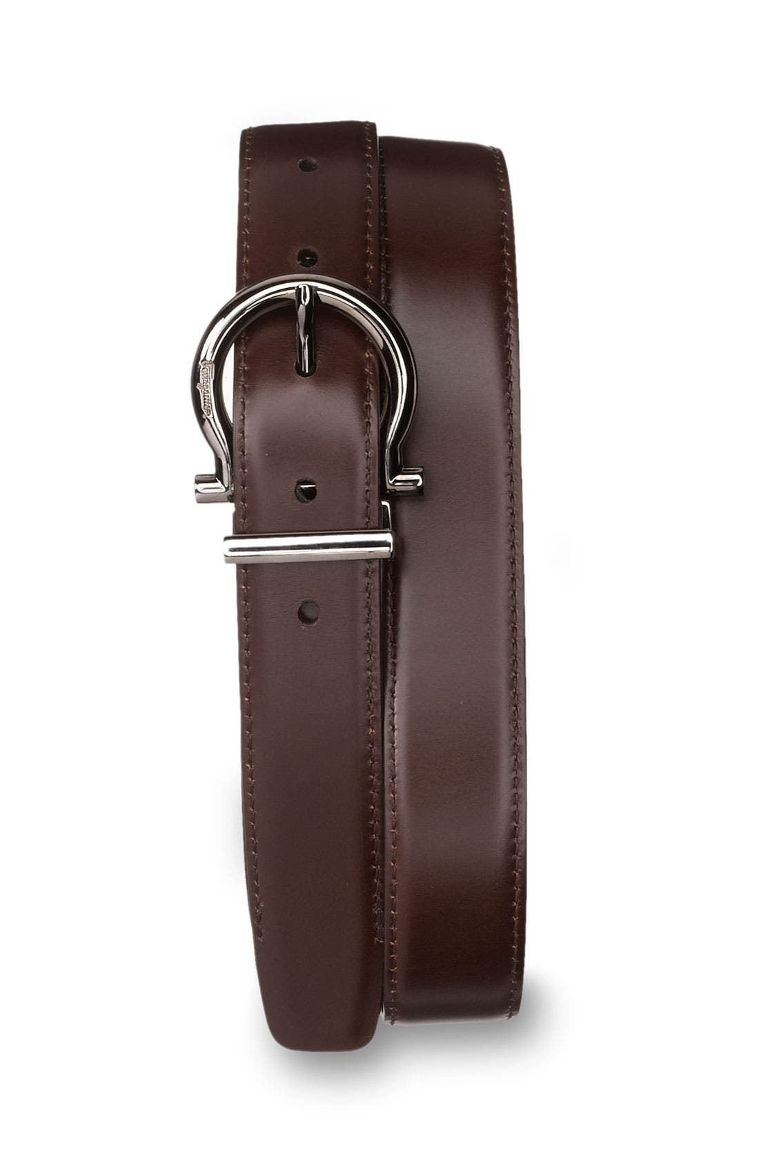 Alternate Image 2  - Salvatore Ferragamo Reversible Adjustable Belt