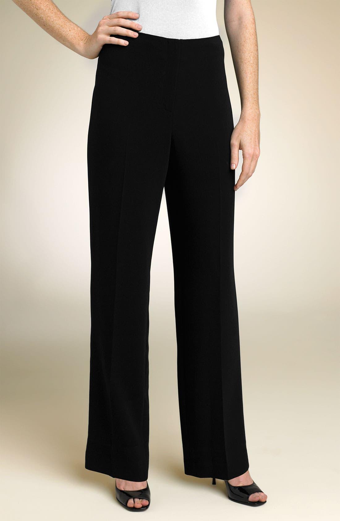 Main Image - Louben Straight Leg Trousers (Petite)