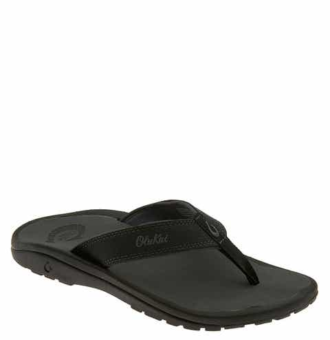 f9e1293093 Black OluKai Sandals   Shoes for Men