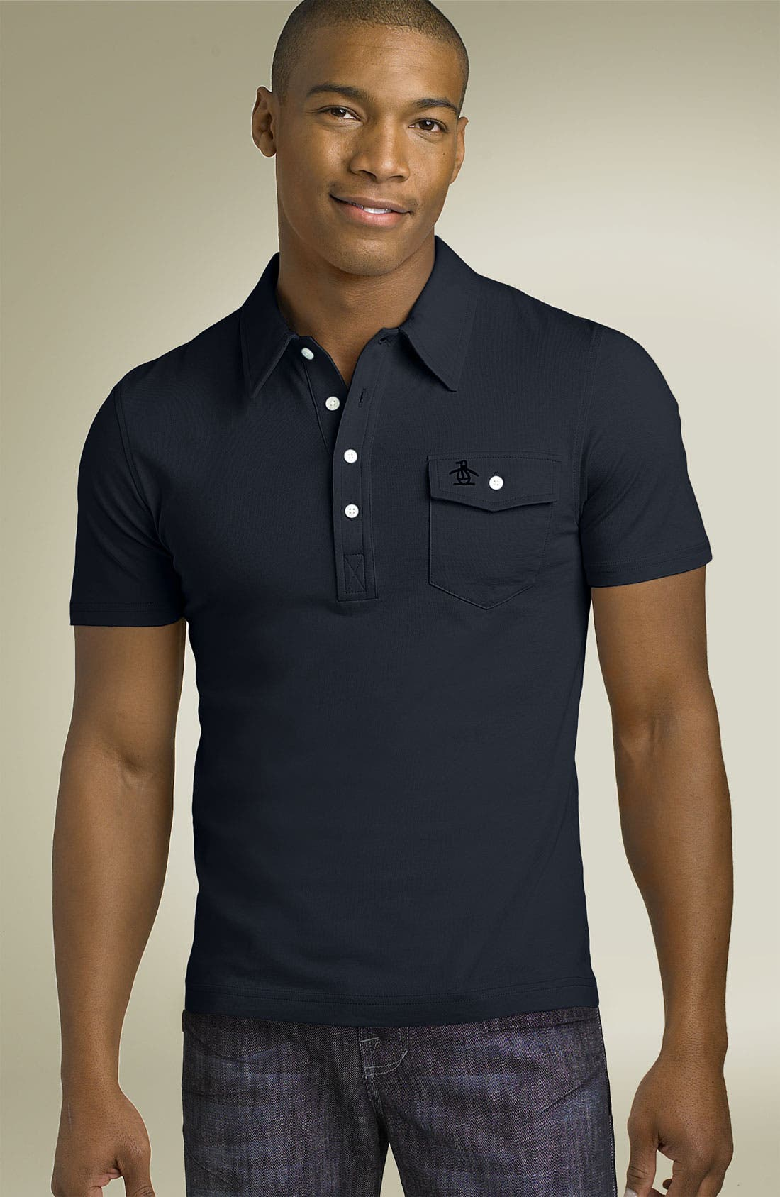 Main Image - Original Penguin 'The Jack' Heritage Fit Polo