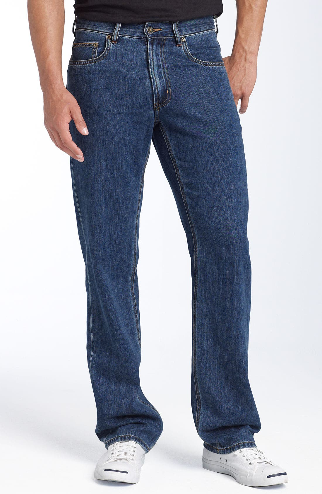 Main Image - Tommy Bahama Denim 'Island Ease' Classic Fit Jeans (Medium)
