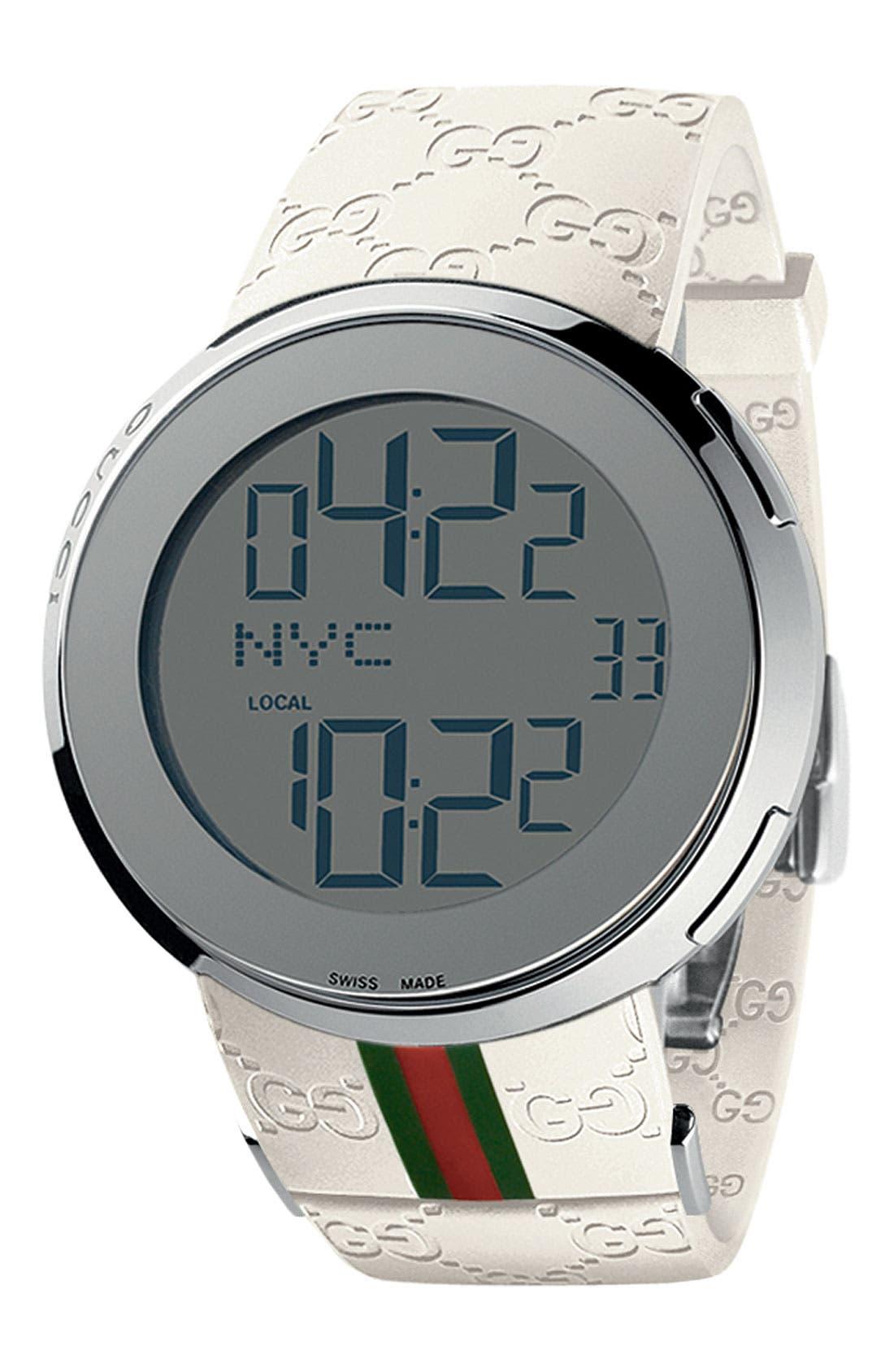 Main Image - Gucci Digital Watch, 44mm