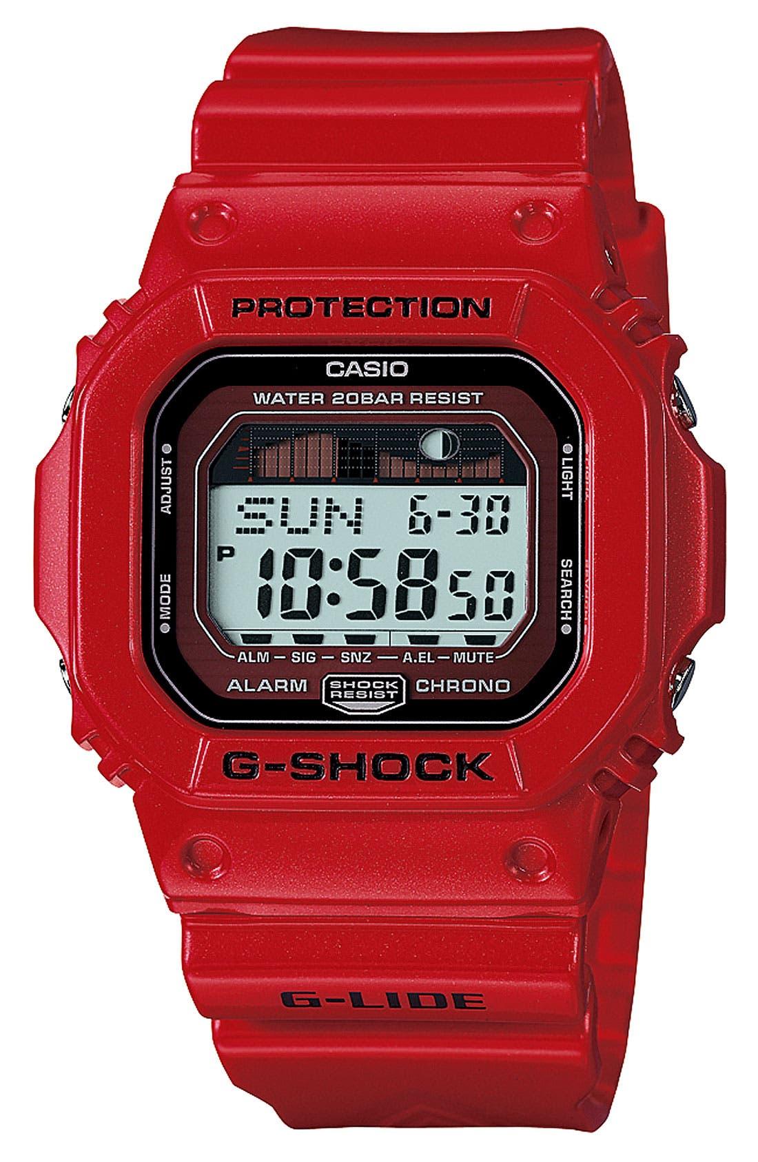 Alternate Image 1 Selected - G-Shock 'Glide' Watch, 43mm