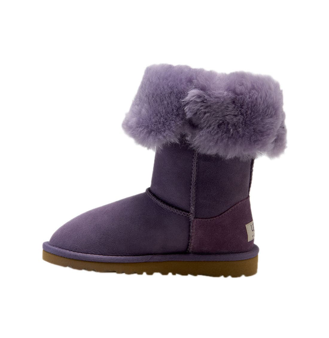 Alternate Image 2  - UGG® 'Bailey Button Triplet' Boot (Little Kid & Big Kid)