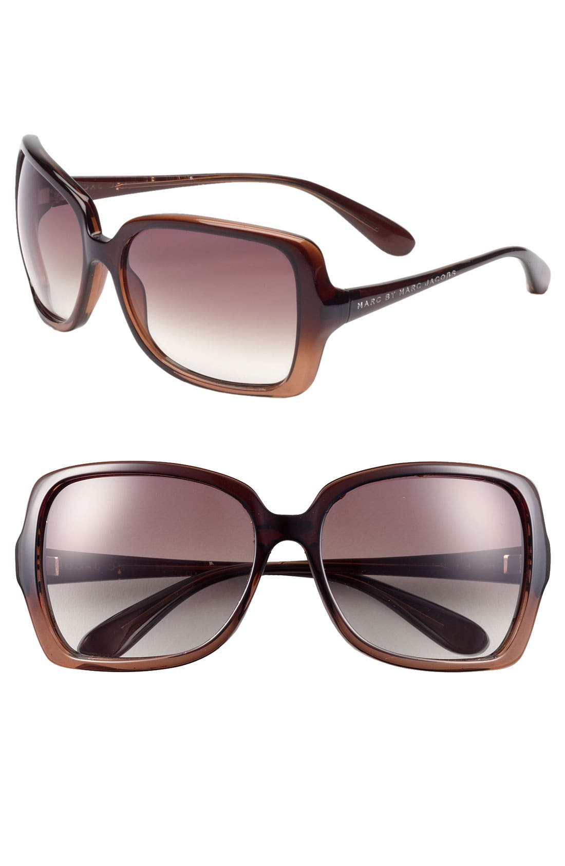 Main Image - MARC BY MARC JACOBS 59mm Vintage Inspired Oversized Sunglasses