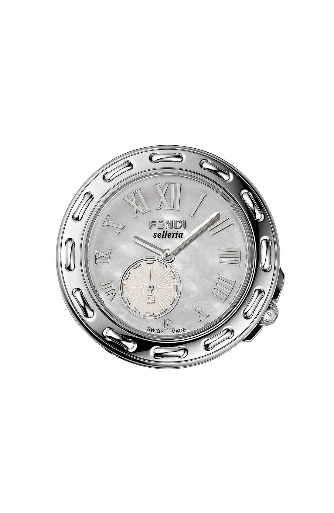 Alternate Image 1 Selected - Fendi Mother-of-Pearl Customizable Watch
