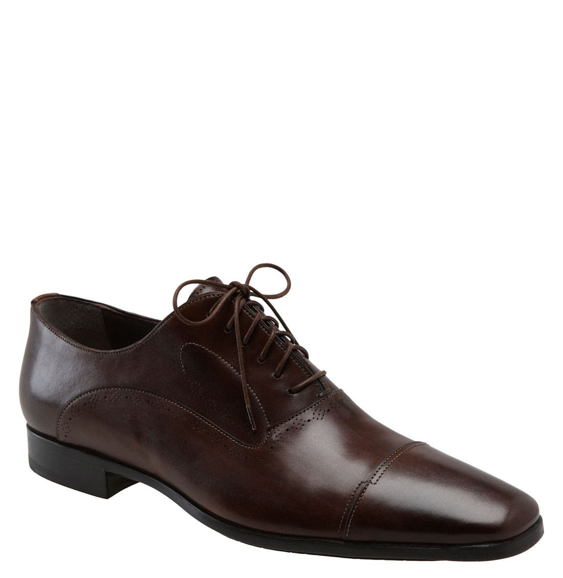 Alternate Image 1 Selected - Santoni 'Orrin' Cap Toe Oxford