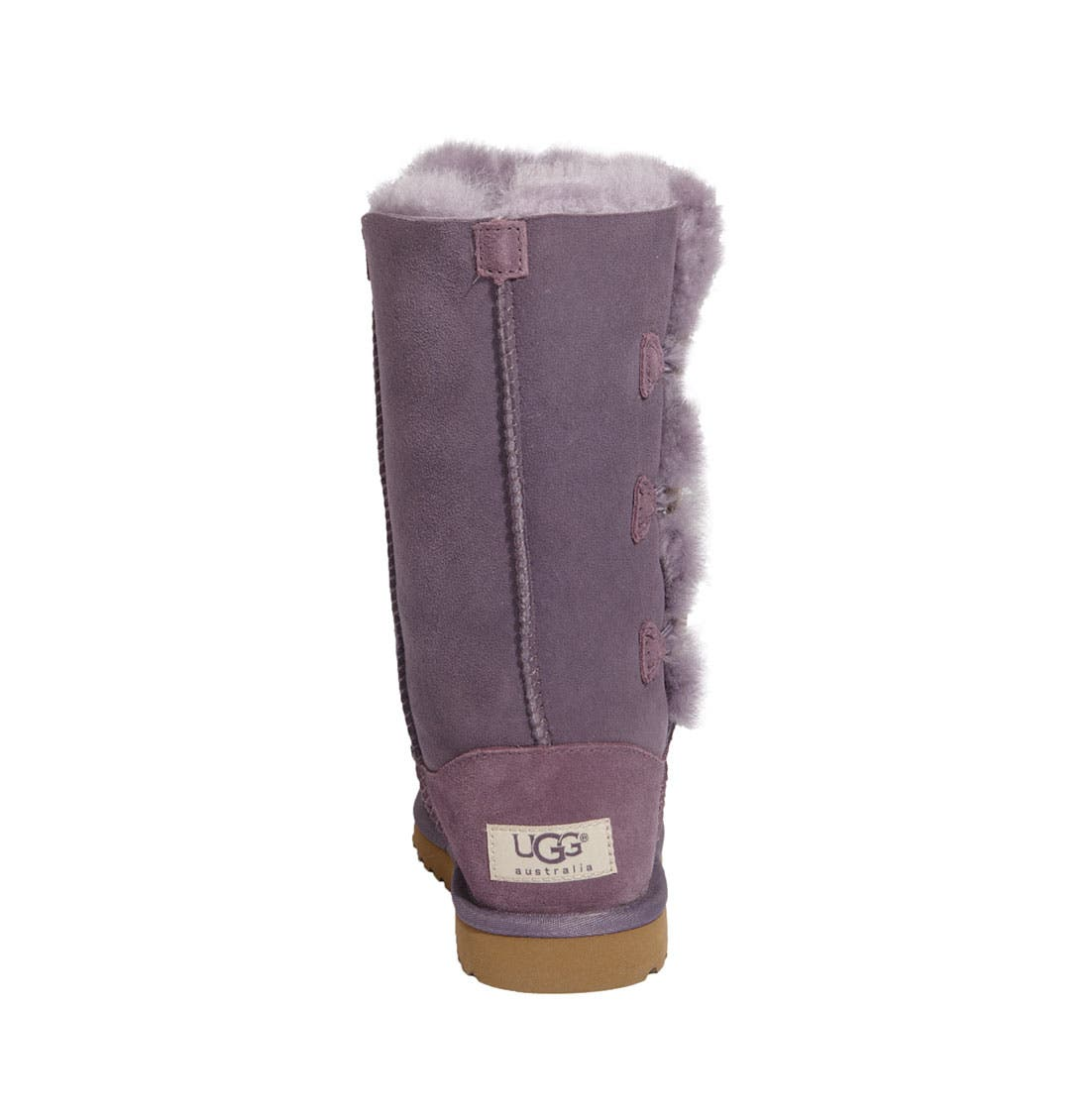 Alternate Image 7  - UGG® 'Bailey Button Triplet' Boot (Little Kid & Big Kid)