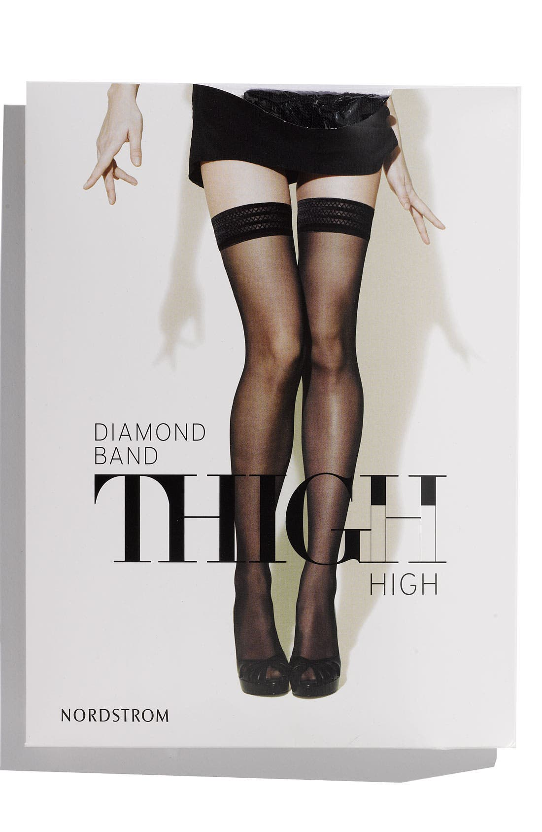 Alternate Image 1 Selected - Nordstrom Sheer Thigh High Nylons