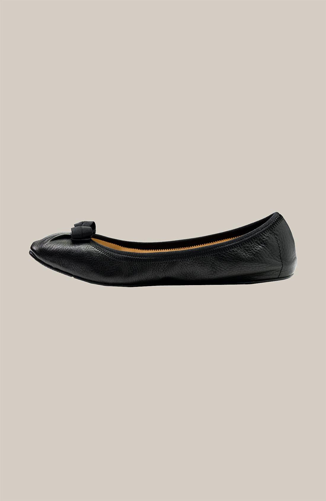 Alternate Image 2  - Salvatore Ferragamo Skimmer Flat (Women)