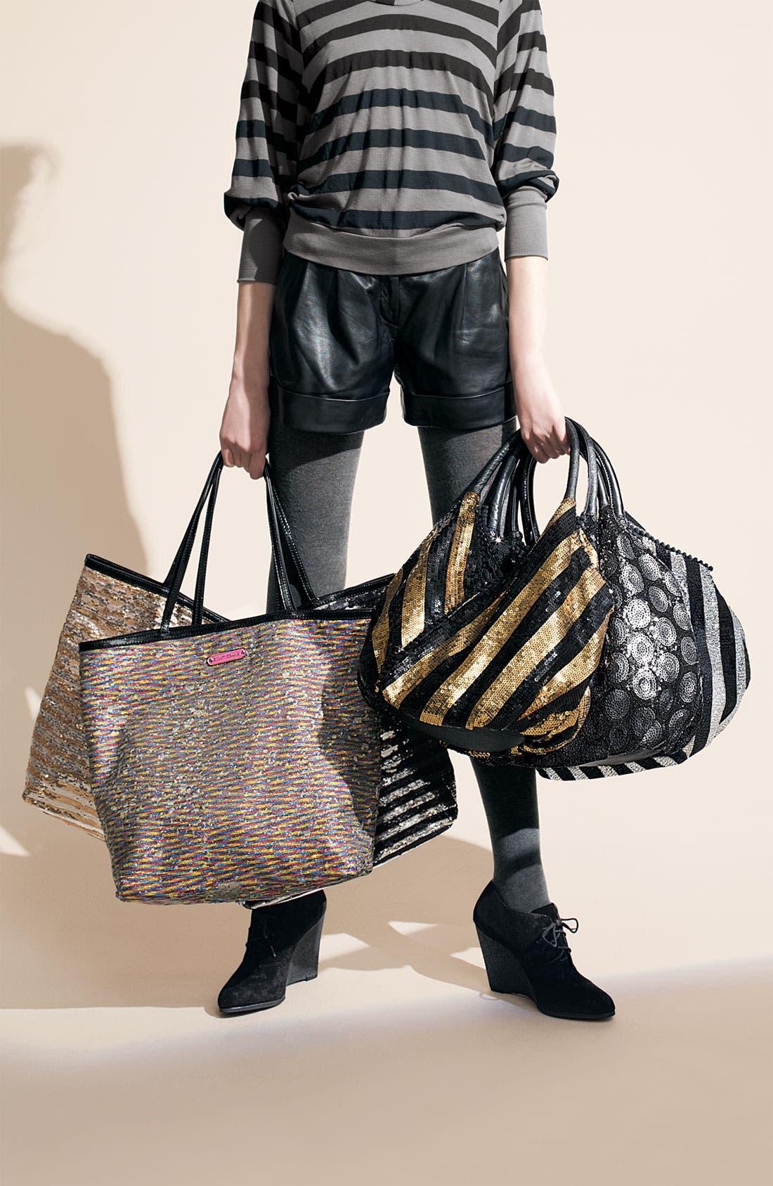 Alternate Image 2  - Betsey Johnson 'Glitzed - Medium' Sequined Shopper