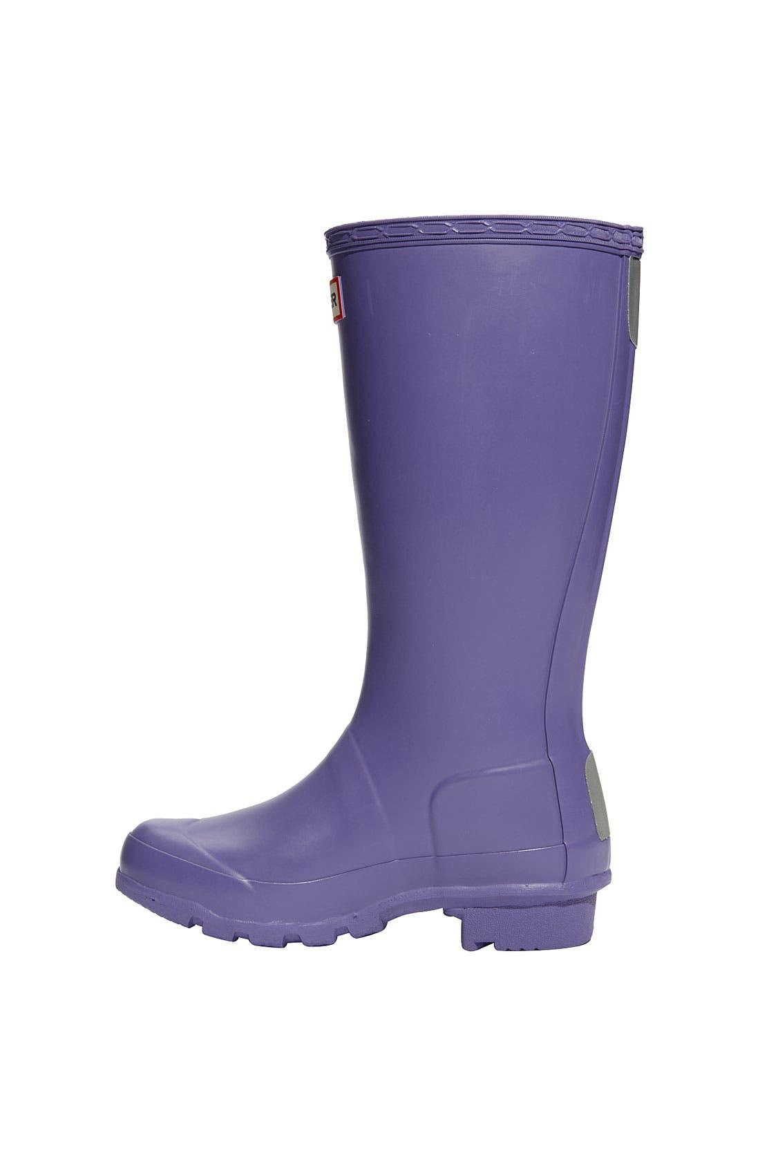 Alternate Image 5  - Hunter Original Rain Boot (Little Kid)