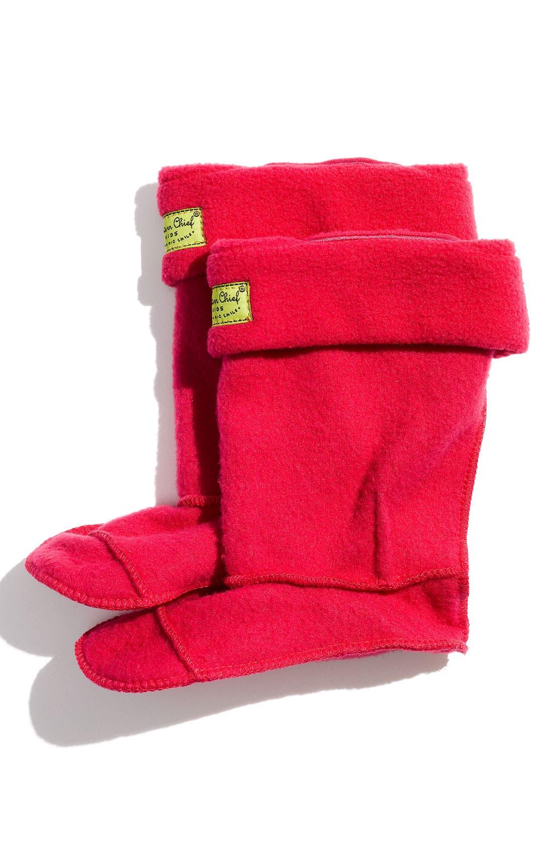 Alternate Image 1 Selected - Western Chief Fleece Boot Socks (Walker, Toddler & Little Kid)