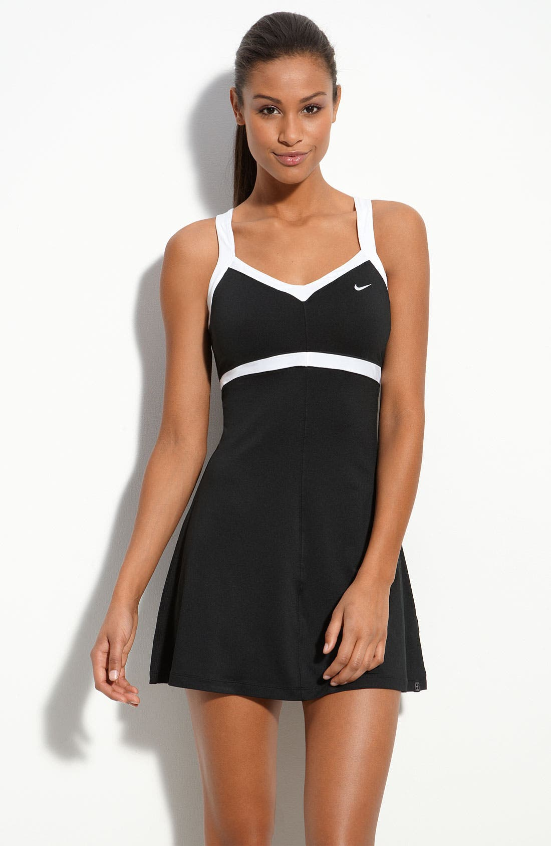 Alternate Image 1 Selected - Nike 'Border' Tennis Dress