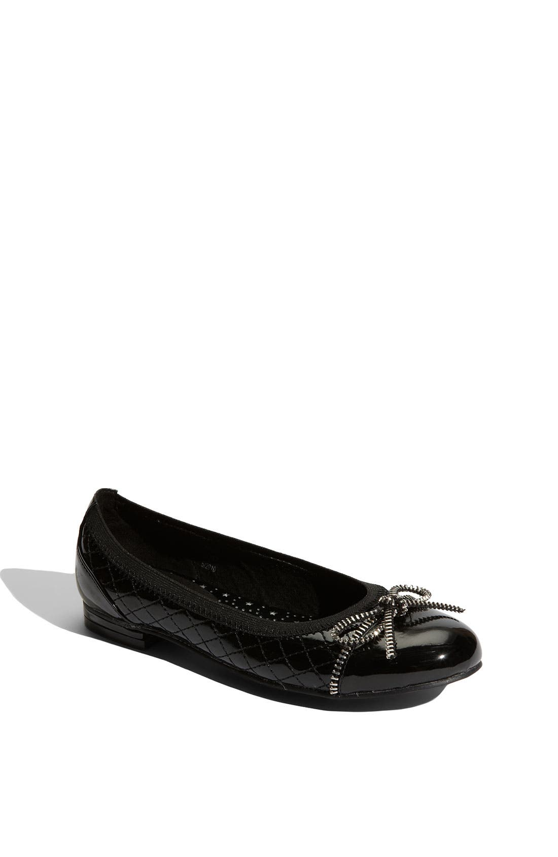Alternate Image 1 Selected - KORS Michael Kors 'Fanny' Flat (Toddler, Little Kid & Big Kid)