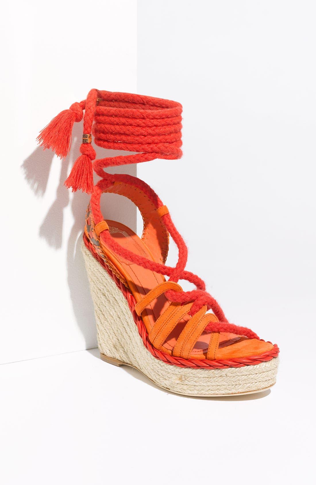 Alternate Image 1 Selected - Dior 'Tahiti' Platform Wedge Sandal
