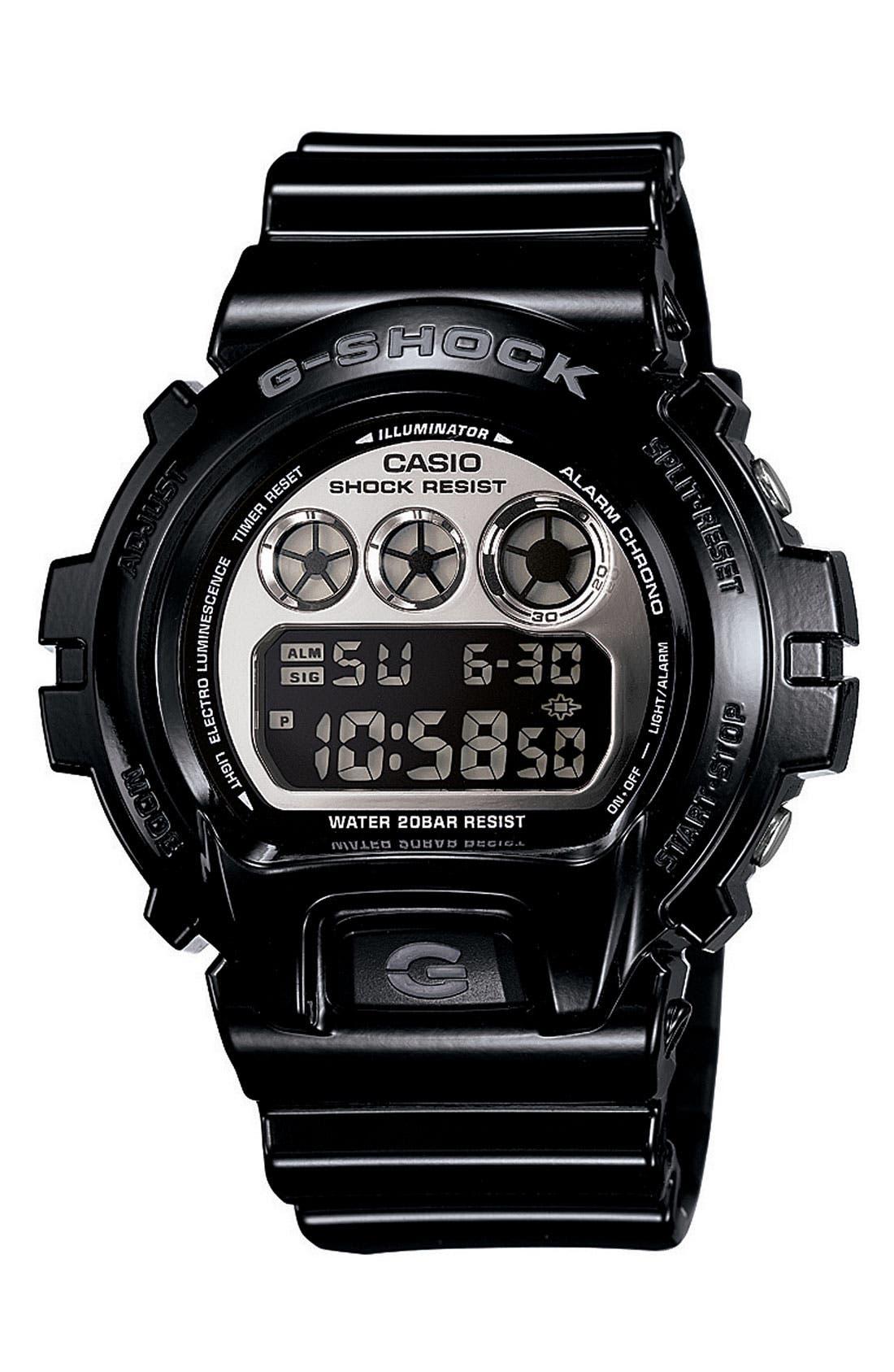Alternate Image 1 Selected - G-Shock 'Mirror Metallic' Digital Watch, 50mm x 45mm