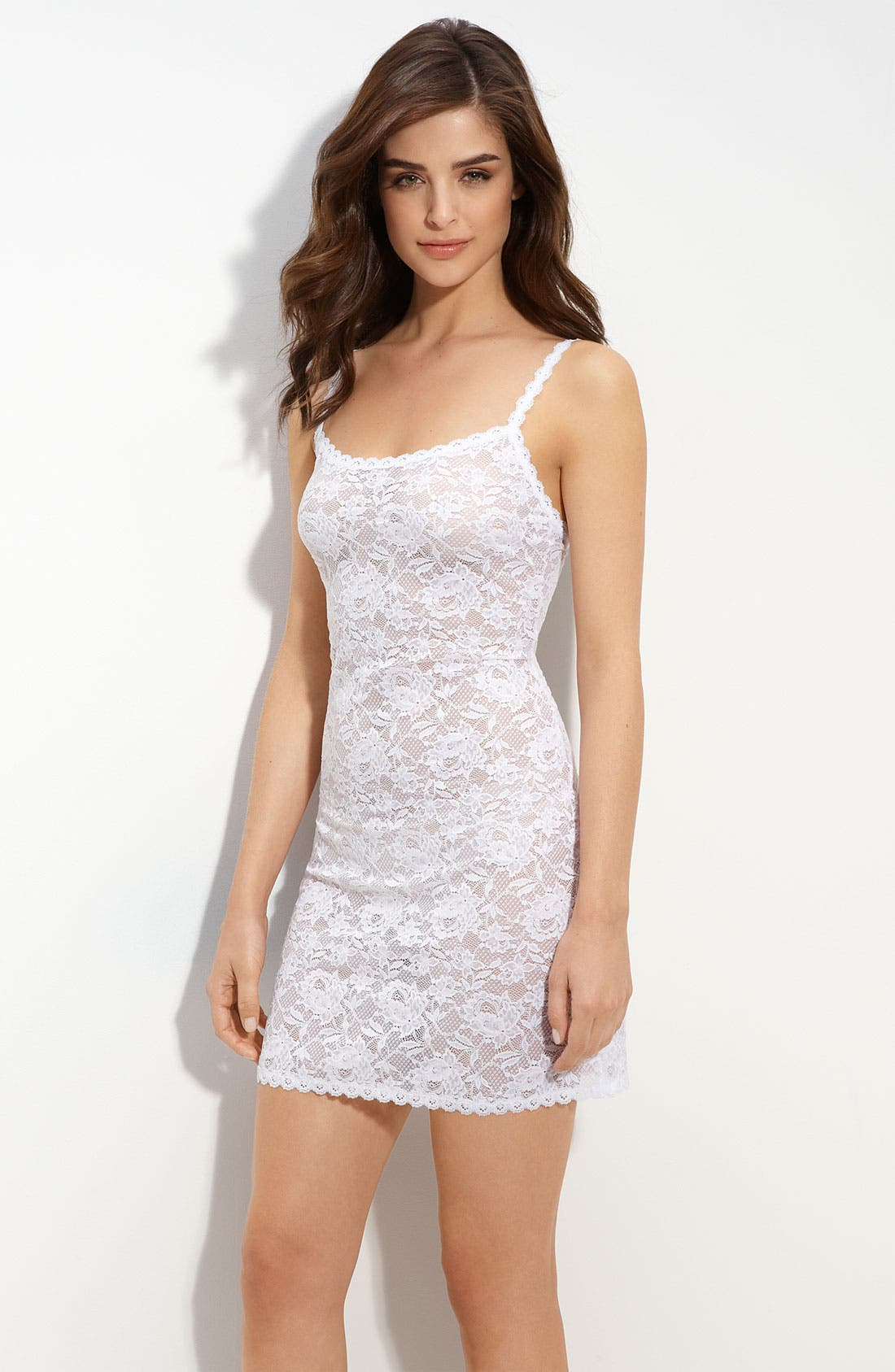 'Never Say Never' Chemise,                         Main,                         color, White