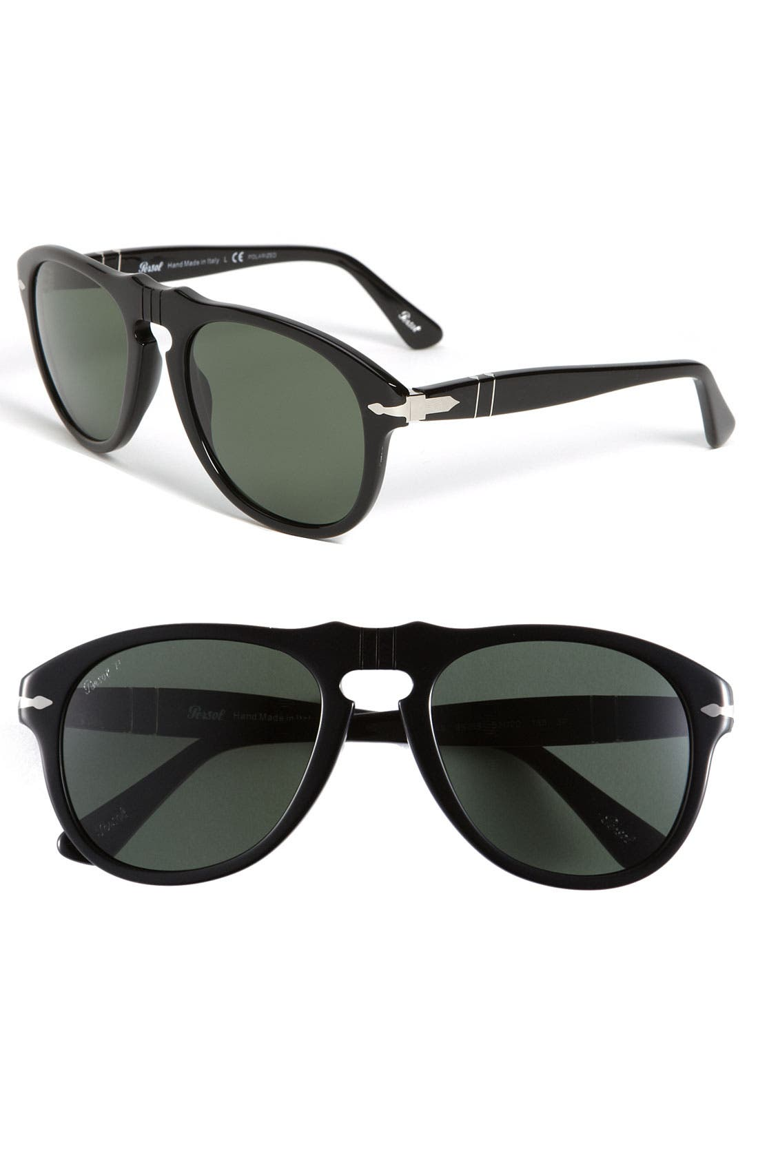 Alternate Image 1 Selected - Persol 54mm Polarized Keyhole Retro Sunglasses