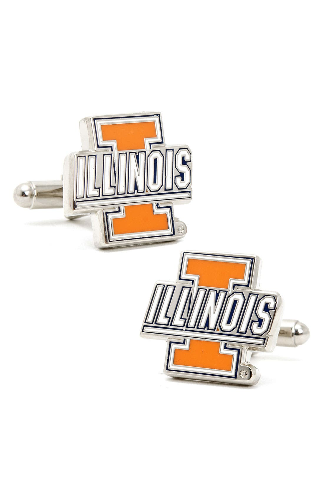 Alternate Image 1 Selected - Cufflinks, Inc. 'Illinois Fighting Illini' Cuff Links