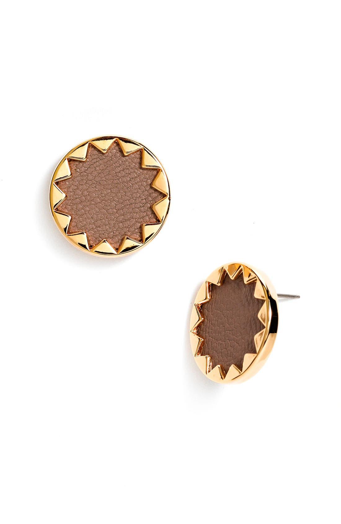 Main Image - House of Harlow 1960 Sunburst Button Earrings