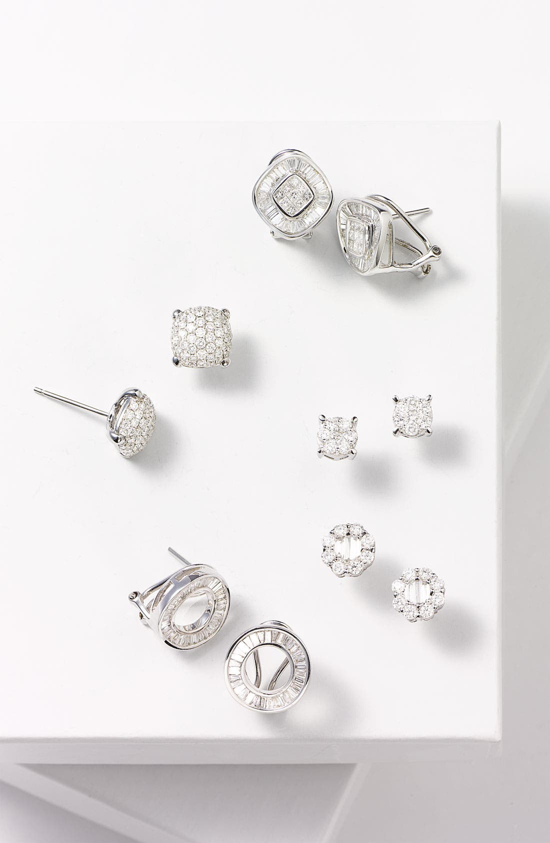 Alternate Image 4  - Bony Levy Diamond Earrings (Nordstrom Exclusive)